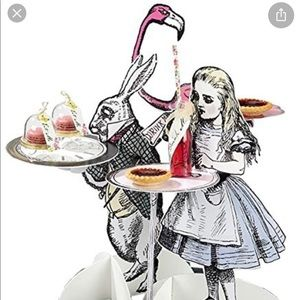 Truly Alice treat stand alice in wonderland party